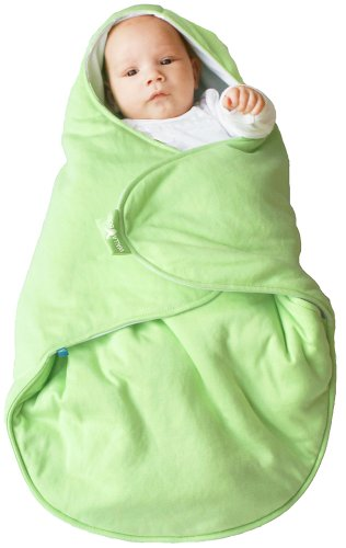 Wallaboo  Baby Blanket Coco, Lily Green, 0-10 Months