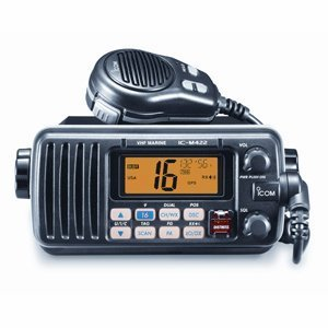 ICOM M422-11 25-Watt VHF Radio (Black)