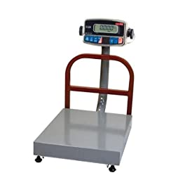 Torrey EQB-50/100 Bench shipping Scale 100 lb x 0.02 lb,NTEP Legal for trade,15\