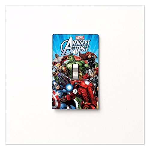 Got You Covered aven Marvel Avengers Assemble Light Switch Covers (1 x Toggle Light Switch) (Got Marvel compare prices)