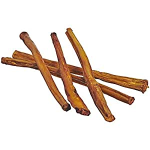 7 straight bully sticks for dogs small thickness 25 pac. Black Bedroom Furniture Sets. Home Design Ideas