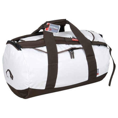 Tatonka Barrel Sports Bag - 52 x 52 x 82cm, White (Off White)