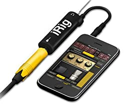 IK Multimedia iRig Guitar Interface Adaptor IP-IRIG-PLG-IN