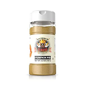 Flavor God #1 Best-Selling Seasonings, Pumpkin Pie, 1 Bottle, 5 oz