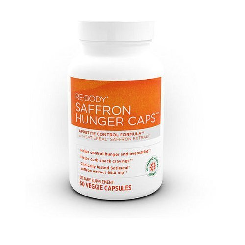 Clinically Supported Weight Management ControlIncrease fullness, improve mood and take control over snacking and sugar cravings with this breakthrough scientific formula that supports reduction of weight and inches - ReBody Hunger Caps with Satiereal Saffron Extract