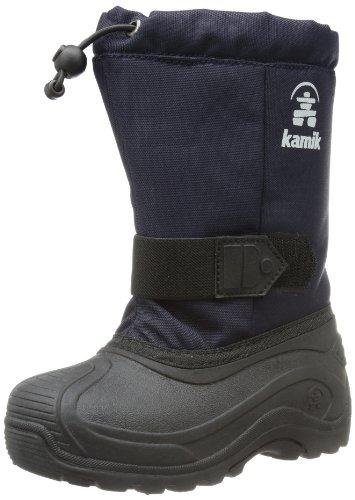 Kamik Tickle8, Stivali da neve unisex bambino, Bleu - Blau (navy NAV), 38