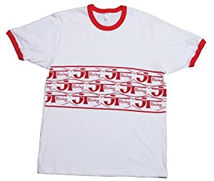 JT Racing USA Ringer T-Shirt (Red, XX-Large)
