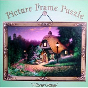 250pc. Picture Frame Puzzle-Hillcrest Cottage