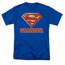 Superman Super Grandpa Long Sleeve T-Shirt