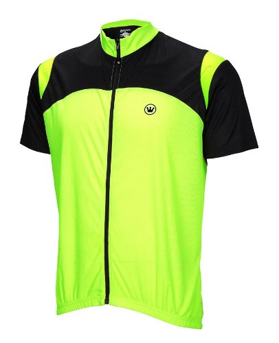 Buy Low Price Canari Blade Mens Cycling Jersey Neon Yellow bike bicycle (B007V6AH90)