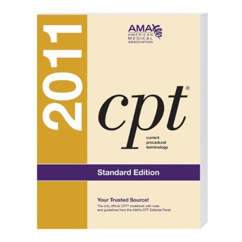 CPT Standard 2011 (Current Procedural Terminology (CPT) Standard)