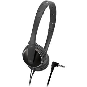 (快抢)铁三角 Audio-Technica ATH-ES33BK折叠金属便携式耳机 历史最低$37.74