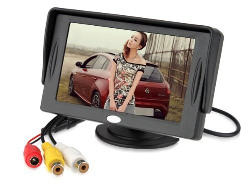 4.3 Inch Lcd Tft Rearview Monitor Screen For Car Backup Camera