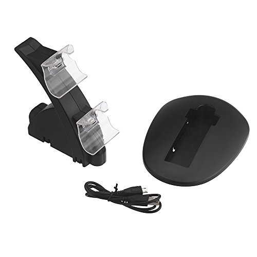 Docooler® Dual Charging Charger Stand Dock Station Holder For Xbox One Controller Black