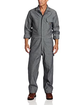Dickies 48977 Cotton Coverall - Fisher Stripe-Fisher Stripe-4T