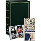 3-ring pocket HUNTER-GREEN album for 504 photos - 4x6