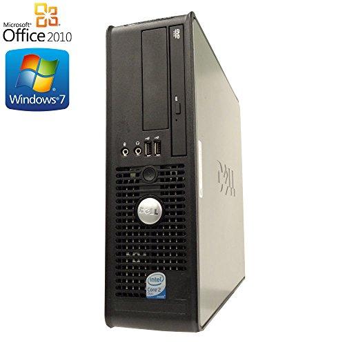 【Microsoft Office2010搭載】【Win7 搭載】DELL 745/Core 2 Duo 2.4GHz/メモリ2GB/HDD160GB/DVDドライブ/中古デスクトップパソコン