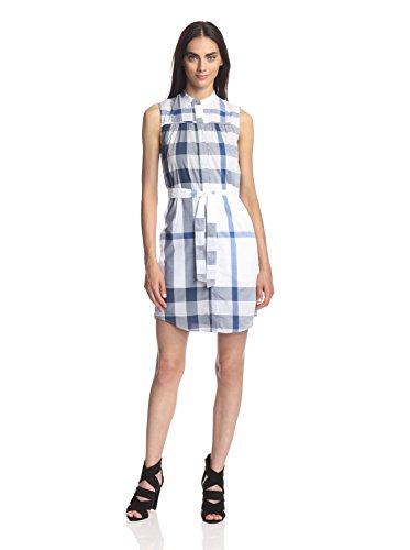Burberry Women's Margaux Check Print Shirt Dress