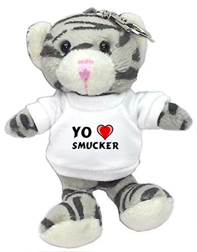 gato-gris-de-peluche-llavero-con-amo-smucker-en-la-camiseta-nombre-de-pila-apellido-apodo