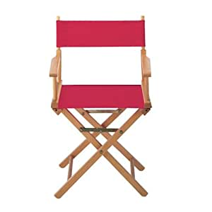 Replacement Canvas Seat and Back for Directors Chair, CANVAS, RED