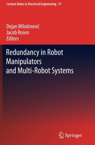 Redundancy In Robot Manipulators And Multi-Robot Systems (Lecture Notes In Electrical Engineering)
