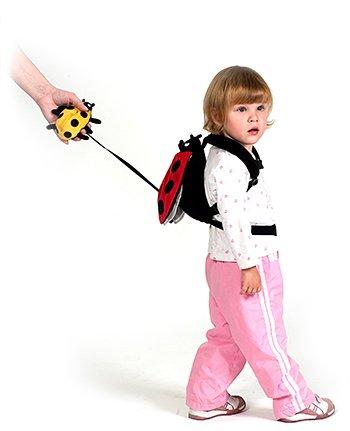 Imagen de Sherpa bebé arnés de seguridad para niños Safe2Go Backpack - Frog w / Fly