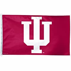 Buy NCAA Indiana Hoosiers 3-by-5-Foot Flag by WinCraft
