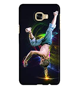 Design Cafe Back Cover for Samsung Galaxy C7