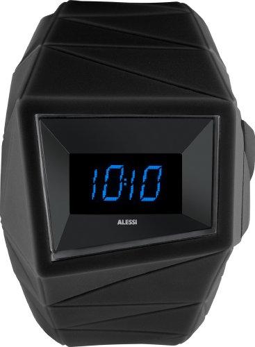 Alessi Unisex AL22000 Black Digital Sport Watch