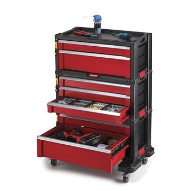 Keter 7 Drawer Modular Tool Storage System Discount