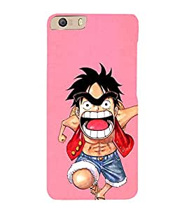 EPICCASE Angry boy Mobile Back Case Cover For Micromax Canvas Knight 2 E471 (Designer Case)