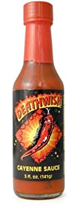 Deathwish Cayenne Hot Sauce 5 Fl Oz by AmericanSpice.com