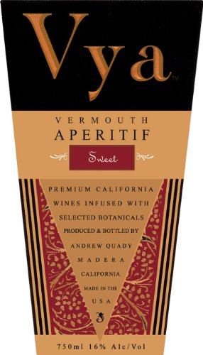 Quady NV  Vya Sweet Vermouth blend - Red 750ML