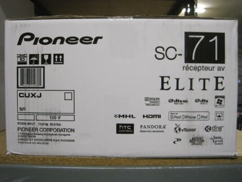 Pioneer Elite Sc-71 (Discontinued By Manufacturer)