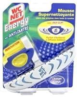 WC Net - Energy Deo Clip Bloc Solide - Anti-Tartre - Ocean Fresh