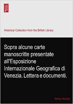 di Venezia. Lettera e documenti.: Andrea. Marcello: Amazon.com: Books