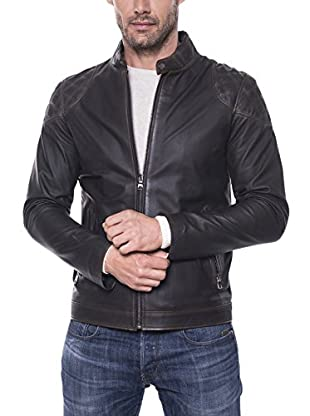 GIORGIO DI MARE Cazadora Piel Men'S Leather Jacket (Antracita)