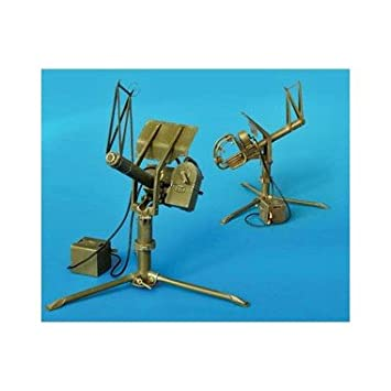 Maquette U.S. Machine gun cal .50 Anti-aircraft, 2eme GM