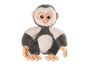 Emotion Pets Playfuls Nutty The Monkey (black & White)