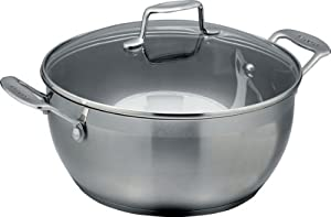 Scanpan Impact 5.0 Litre Stew Pot with Lid