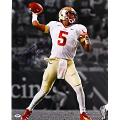 JAMEIS WINSTON SIGNED FLORIDA STATE SEMINOLES 11x14 PHOTO PSA DNA #R91025
