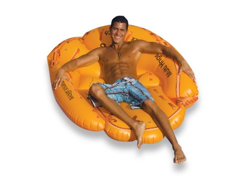 Swimline Baseball Glove Float Inflatable Raft front-766367