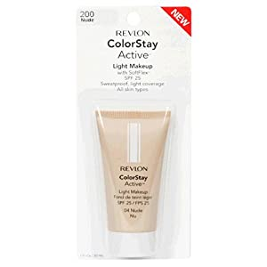 Revlon ColorStay Active Light Makeup with SoftFlex, SPF 25, Ivory 110, 1 Ounce