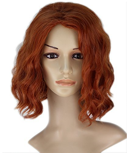 Avengers: Age of Ultron Black Widow Cosplay Wig