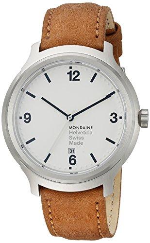 Mondaine No 1 Bold MH1.B1210.LG Reloj de Pulsera para hombres Clásico & sencillo