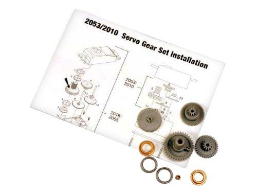Traxxas 2053 Servo Gears for 2055 Servo - 1