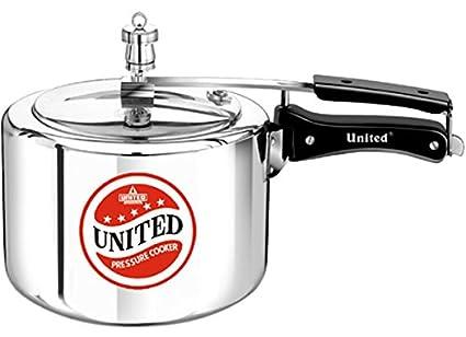 United-Aluminium-2.5-L-Pressure-Cooker-(Inner-Lid)