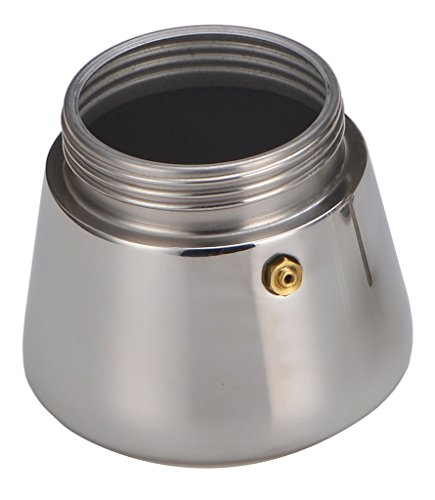 Generic 200 ML, 4 Cup Stainless Steel Moka Stovetop Espresso Coffee Maker Latte Percolator Stove Top Coffee Stovetop Espresso Maker Pot For Use On Gas Electric And Ceramic Cooktops