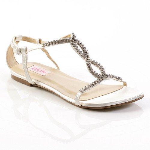 Heaven Wedding Shoes Ivory Size 9