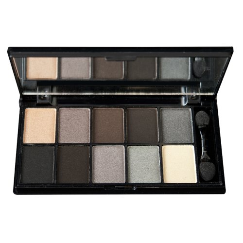 NYX Cosmetics Eye Shadow Palette 10 Color, Smokey